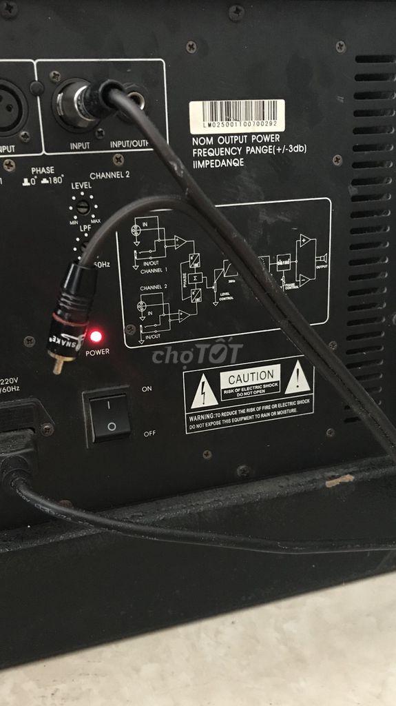Sub điện bãi xịn bass 40 cần bán hoặc giao lưu