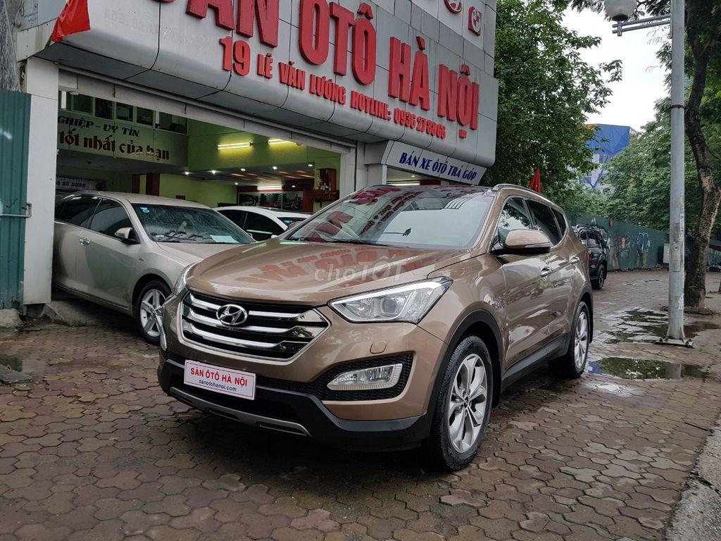 Hyundai Santa Fe 2015 Tự động; santafe dầu