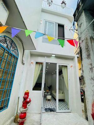 Bán nhà 2 tầng kiệt Hàm Nghi thông Lý Thái Tổ g/rẻ