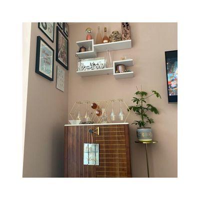 Kệ trang trí treo tường mẫu mới đẹp KTT-9269