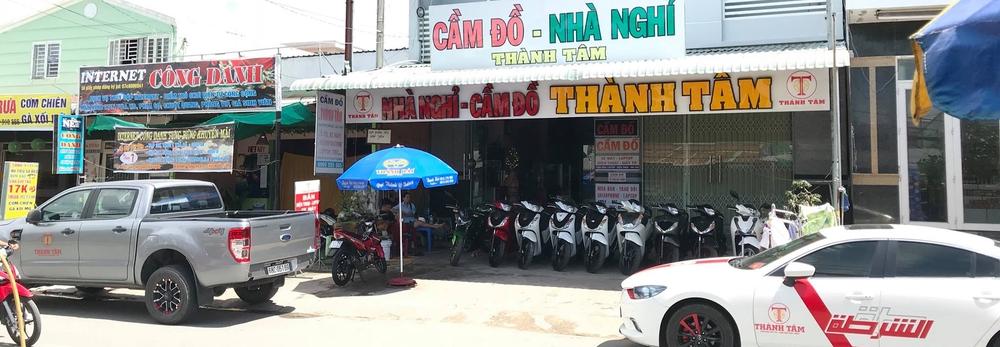Dịch vụ cầm đồ - mua bán -  trao đỗi xe máy Thành Tâm