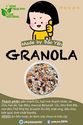 Granola nhà làm