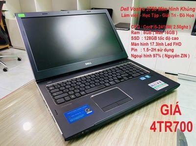 ✅Dell Vostro 3750   i5-2410M Ram 8G SSD 128G 17 IN