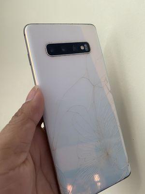 Samsung S10 Plus ban đầu ok đè đè sao đen thui ình
