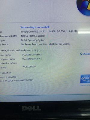 Dell 5010 coer i5 man hinh to phim so pin 2