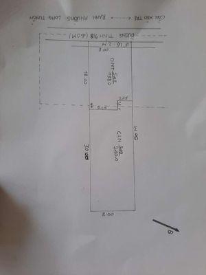 8x50 MẶT TIỀN Đ BÙI HỮU NGHĨA, CHỢ B GIANG 500M.