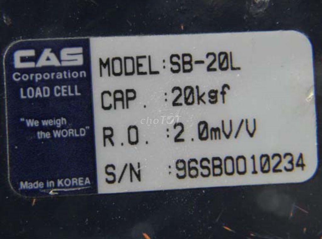 0366417868 - Chuyên cung cấp cân điện tử LOAD CELL CAS Hàn Quốc