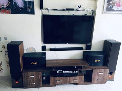 Bán 2 cặp loa karaoke JBL và BMB - 455 bãi