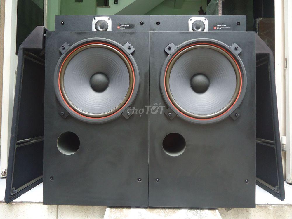 Loa TECHNICS SB-5300, Bass 32cm giấy tẩm dầu, - Chợ Tốt