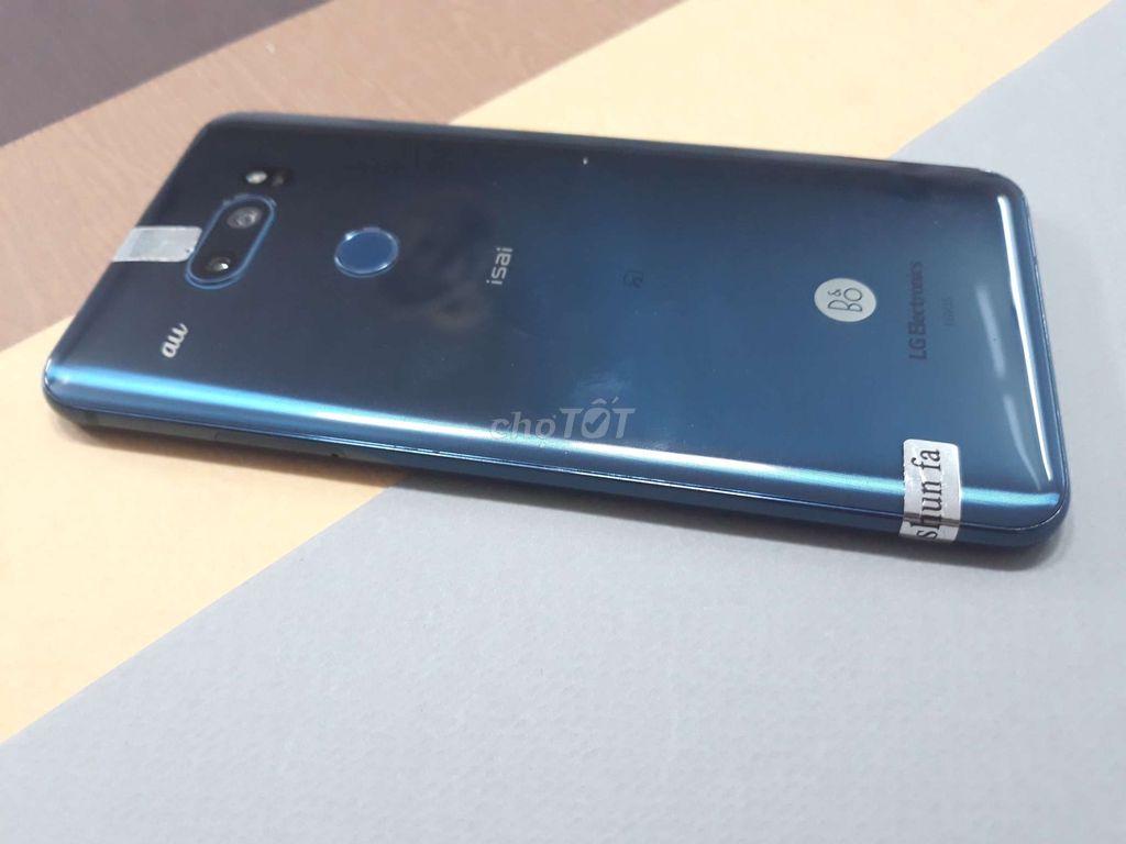 0569110831 - Bán máy LG V30 màu xanh dương 64gb bao chiến game