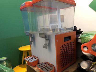Tủ làm lạnh nước trái cây 2 ngăn
