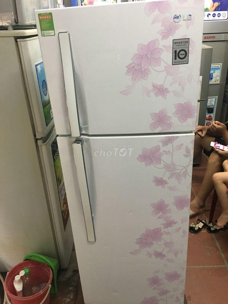 Tủ lạnh LG inveter 225l , mới 90%, tiết kiệm điện