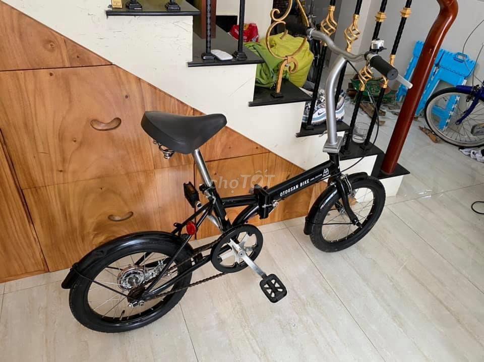 Xe đạp gấp hàng bãi nội địa Nhật OTOUSAN BIKE