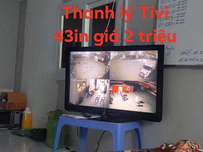 Thanh lý tivi Panasonic 43in đang sử dụng tốt