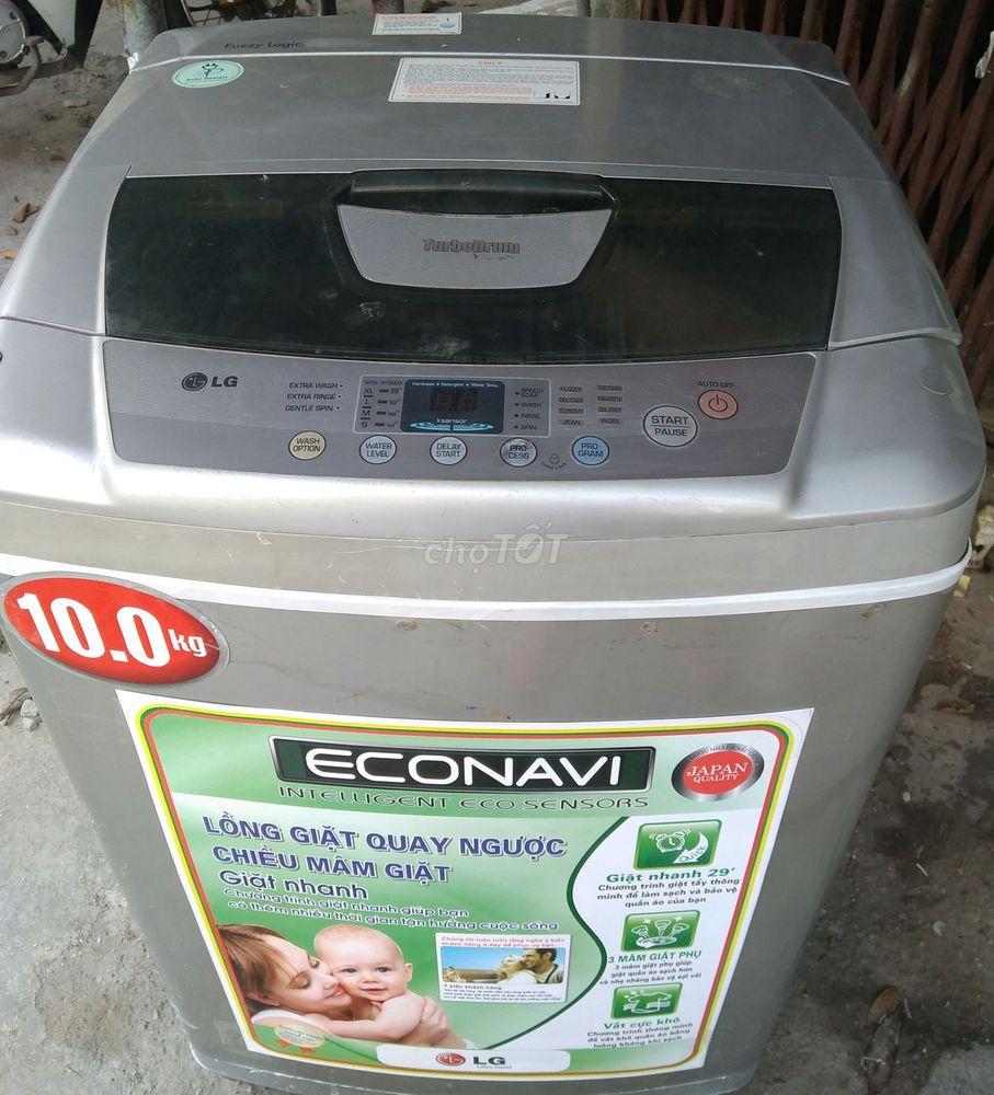 Máy giặt LG 10kg lồng to giặt được các loại chăn