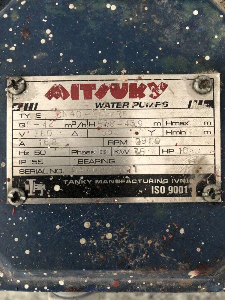 Dư dùng nên bán 02 máy bơm nước