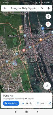 Bán lô đất cực đẹp 192m2 tại Xã Trung Hà