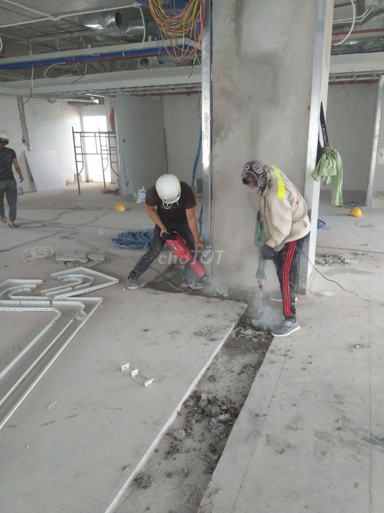 đội cắt đục điện nước âm tường