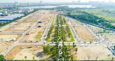 Đất xây biệt thự mặt phố Tân Mai, hồ Đền Lừ, 301m2