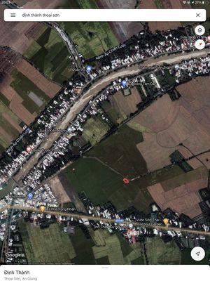 Đất ruộng gần chợ Kinh F, khu dân cư Kinh F