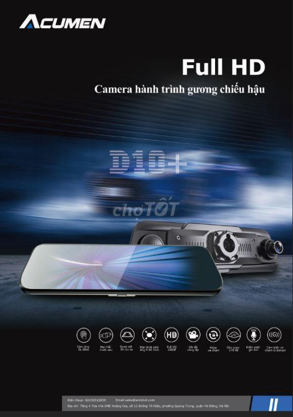 Camera hành trình Acumen D10+ (XR10) full hd