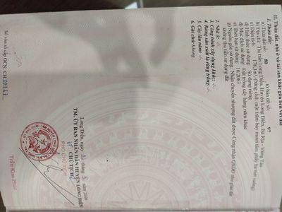 Bán đất TT Long Điền, cách mặt tiền Võ Thị Sáu 20m