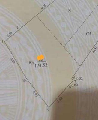 Đất sổ đỏ Xã Đàn, 125m2, MT 6m, giá 63tr/m2