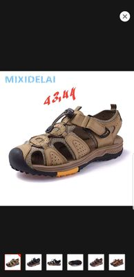 Sandal nam size 43 44 da thật