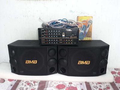 Dàn karaoke 506N hàn quốc ,loa bãi BMB CSD 2000(C)