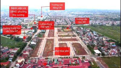 Đất Thành phố Bắc Giang 80m2