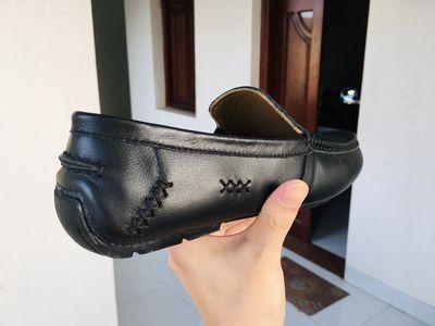 Giày Lười Nam Tomoyo Đẹp Da Thật (Size 42)
