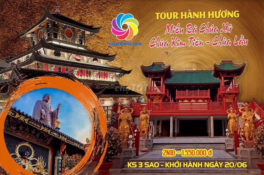 Tour Hành Hương Châu Đốc 2 ngày 1 đêm ( ks 3 sao )