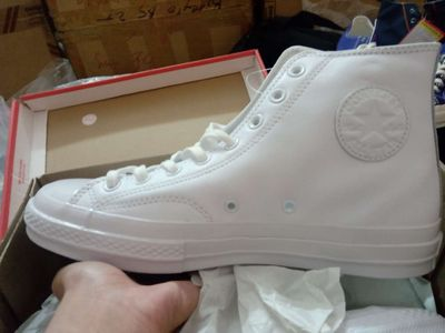 Giày Converse 1970s da trắng size 42 44 real new