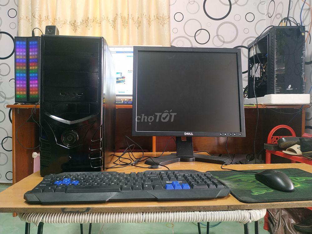 Trọn bộ máy tính bàn học tập cả màn 19 inch dell