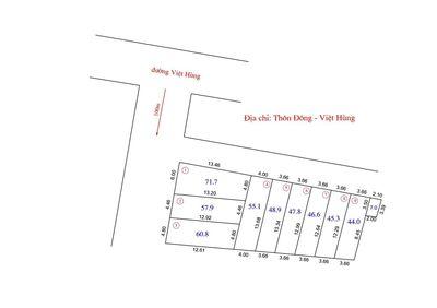 Bán Đất Nền Phân Lô Việt Hùng Giá Rẻ