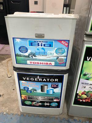 tủ lạnh Toshiba 125L nguyên zin, quạt gió