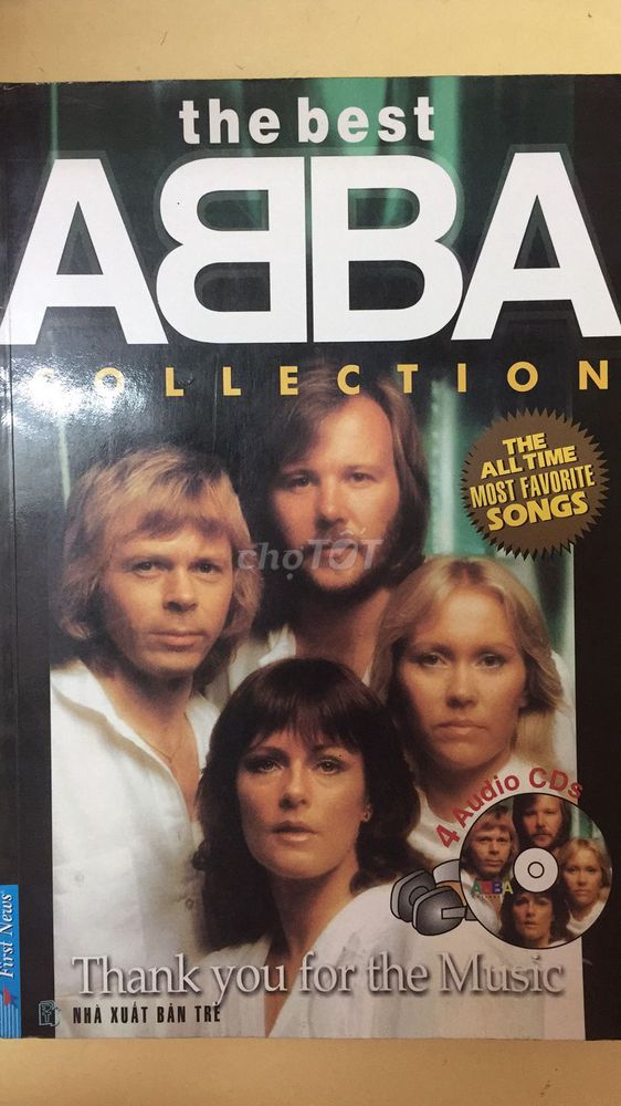 Sách Tuyển tập The Best ABBA Collection