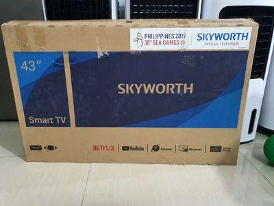 Tivi smart skyworth 43inh wifi youtube lướt web ..