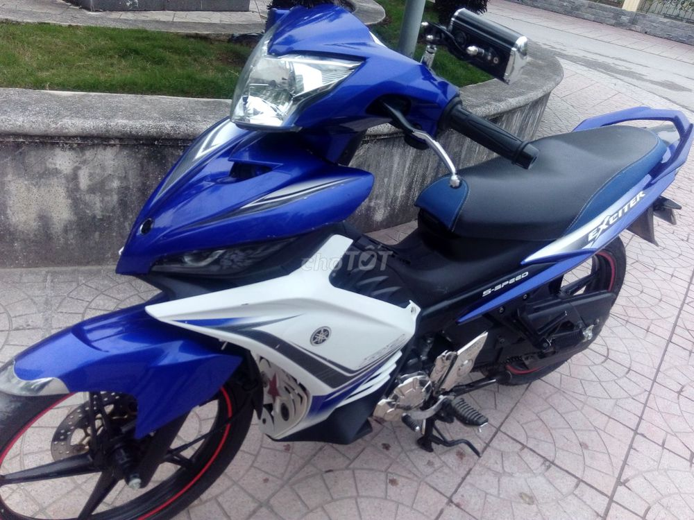 Yamaha Exciter 135 GP chính chủ màu xanh-214