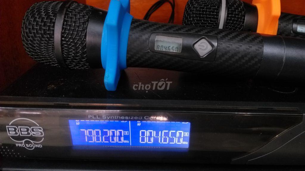 0335393053 - Mic bãi BBS cần bán cho anh em yêu chất âm dòng nà