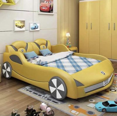 Giường ngủ xe hơi mới 98%!!!