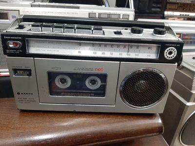 Radio cassette sanyo mini hàng bãi của nhật.