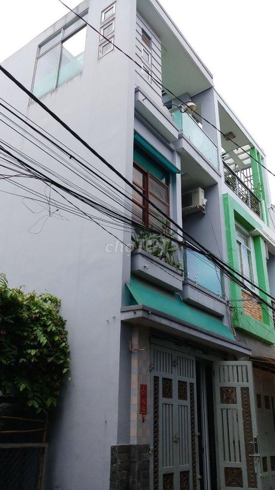 Nhà đúc 2 lầu, hẻm nhựa 5m Đường Lâm thị hố