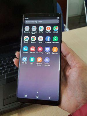 SamsungNote 8 bản 256/6gb 2sim tiện lợi