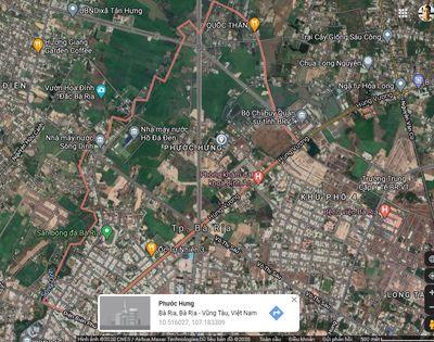 Bán lô đất mặt tiền Hùng Vương