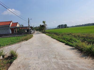 Hòa Phong dt 150m2 đường ô tô vuông vức