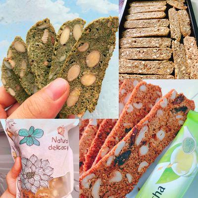 Bánh biscotti nhà làm
