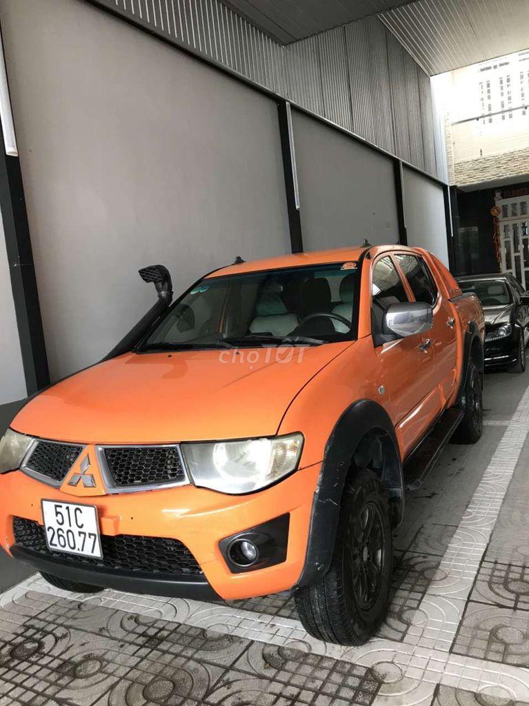 Mitsubishi Triton 2009 Số sàn 2 cầu, máy dầu