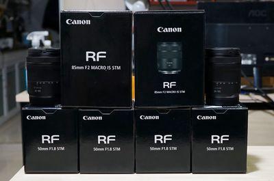 Về vài em lens RF ship US cho ae chơi tết