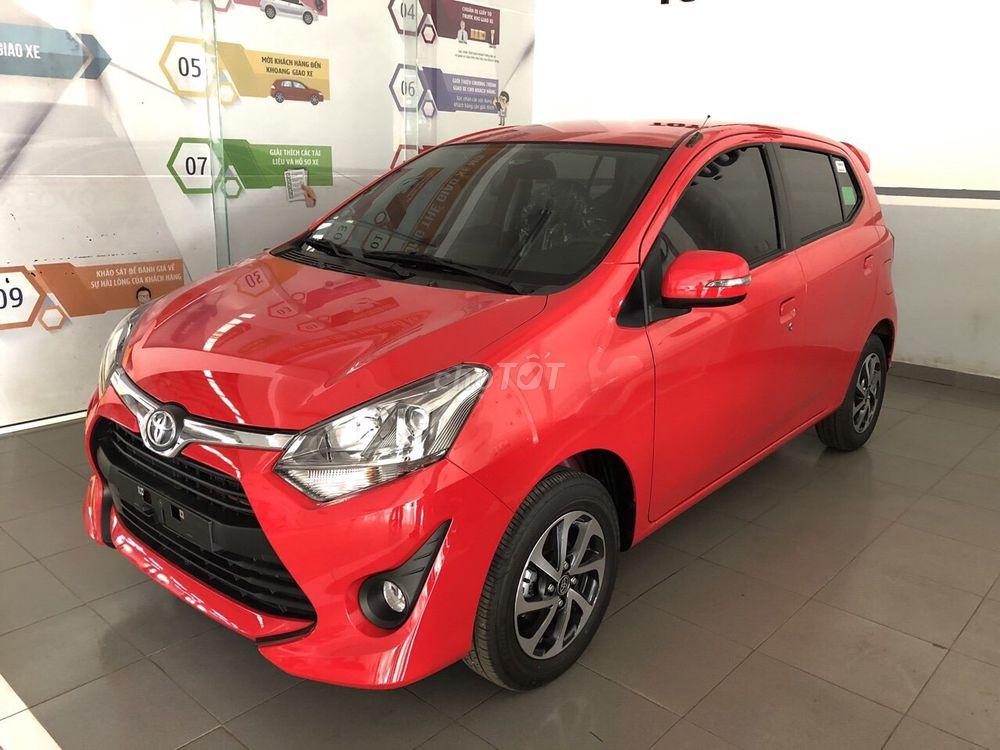Toyota wigo 2019 mới nhập khẩu giá rẻ máy 1.2L